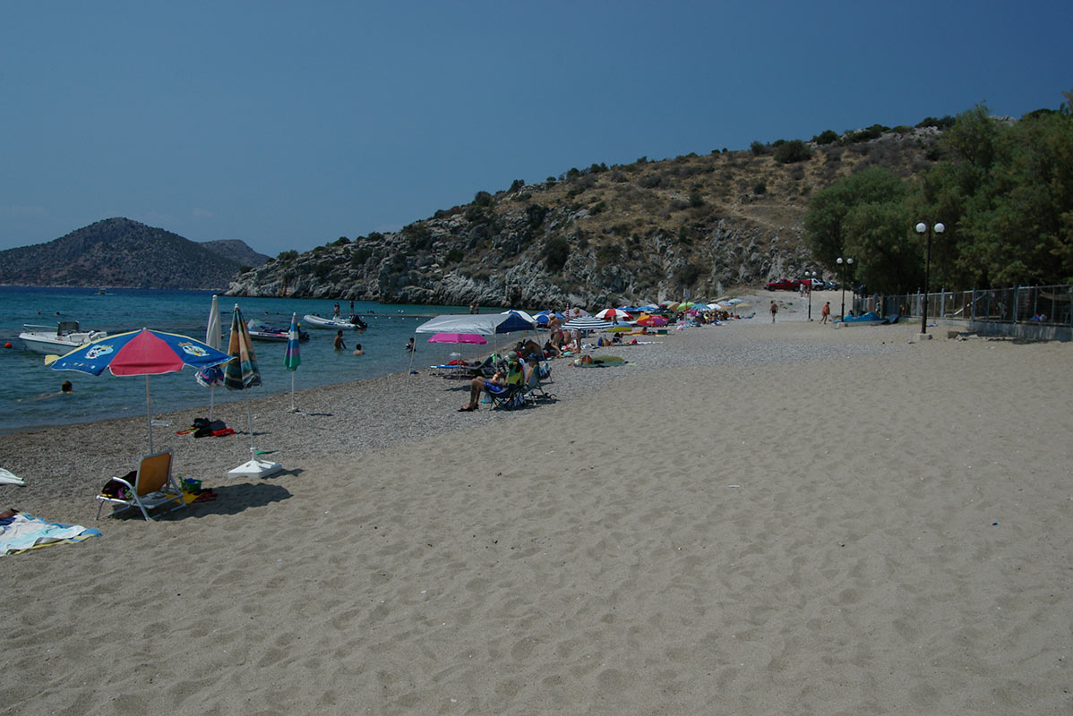 kastraki camping beach