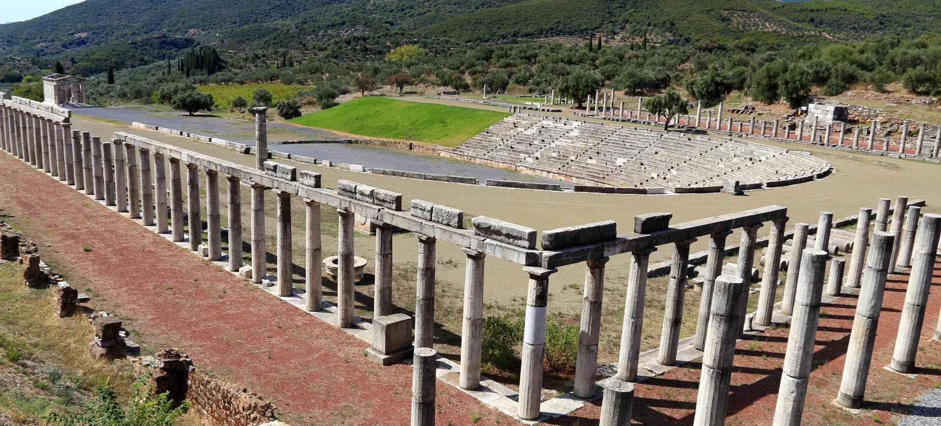 ancient mesini archaelogical site